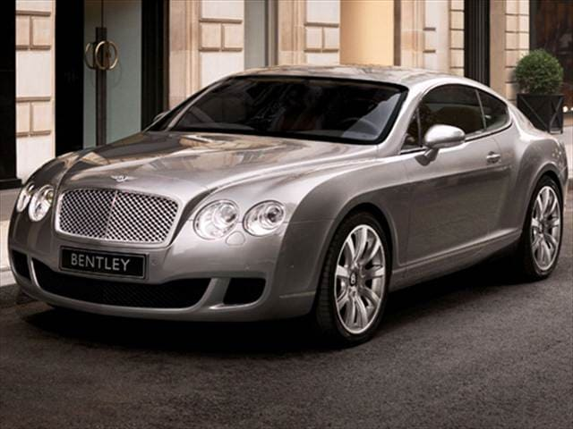 Top Consumer Rated Coupes of 2009 - 2009 Bentley Continental