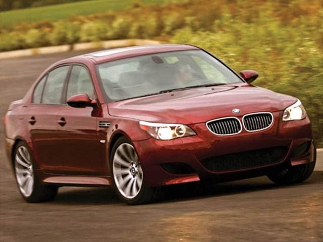 Highest Horsepower Sedans of 2009 - 2009 BMW M5