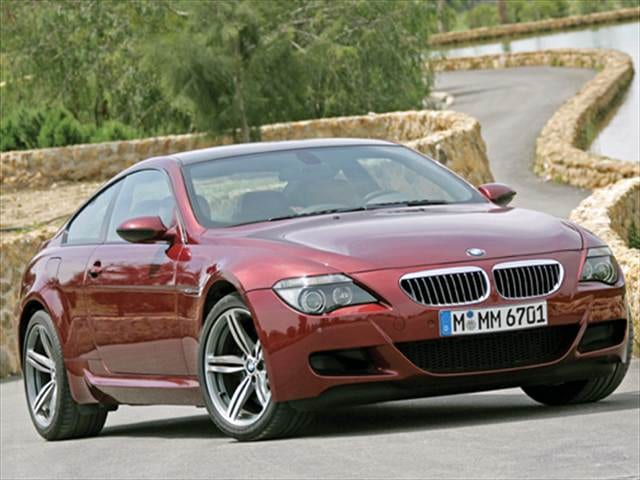 Top Consumer Rated Coupes of 2009 - 2009 BMW M6