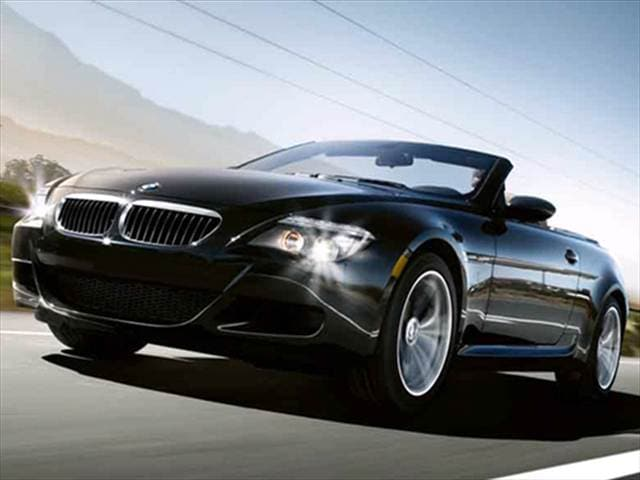 Top Consumer Rated Convertibles of 2009 - 2009 BMW M6