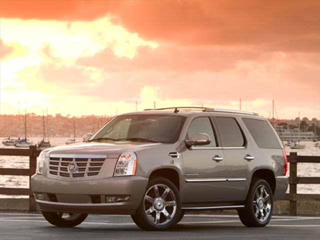 Highest Horsepower SUVs of 2009 - 2009 Cadillac Escalade