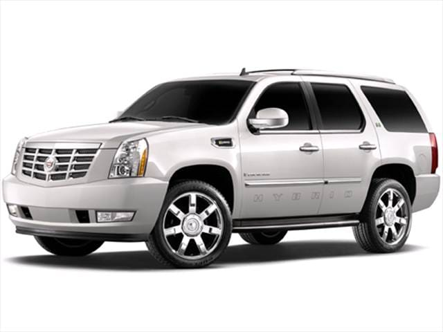 Highest Horsepower Hybrids of 2009 - 2009 Cadillac Escalade
