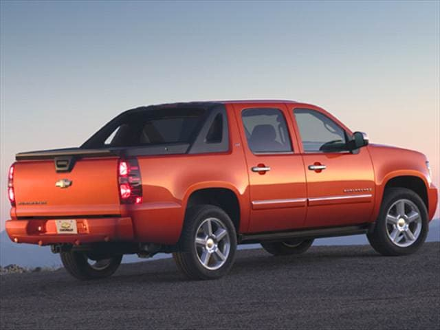 Top Consumer Rated Trucks of 2009 - 2009 Chevrolet Avalanche