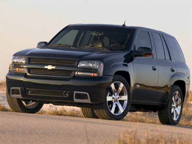 Most Popular SUVs of 2009 - 2009 Chevrolet TrailBlazer
