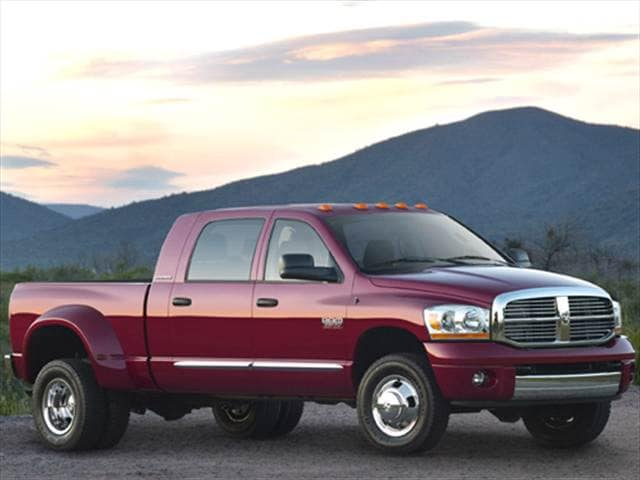 Most Popular Trucks of 2009 - 2009 Dodge Ram 2500 Mega Cab