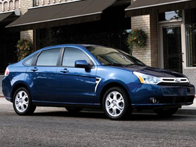 2009 ford focus se sedan 4d used car prices kelley blue book. Black Bedroom Furniture Sets. Home Design Ideas