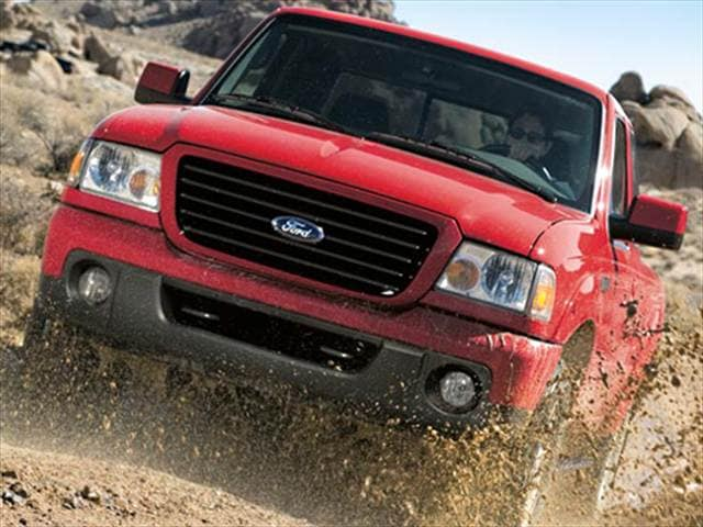 Most Popular Trucks of 2009 - 2009 Ford Ranger Super Cab