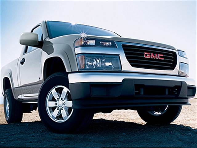 Most Fuel Efficient Trucks of 2009 - 2009 GMC Canyon Regular Cab
