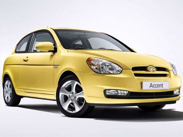 Most Fuel Efficient Hatchbacks of 2009 - 2009 Hyundai Accent