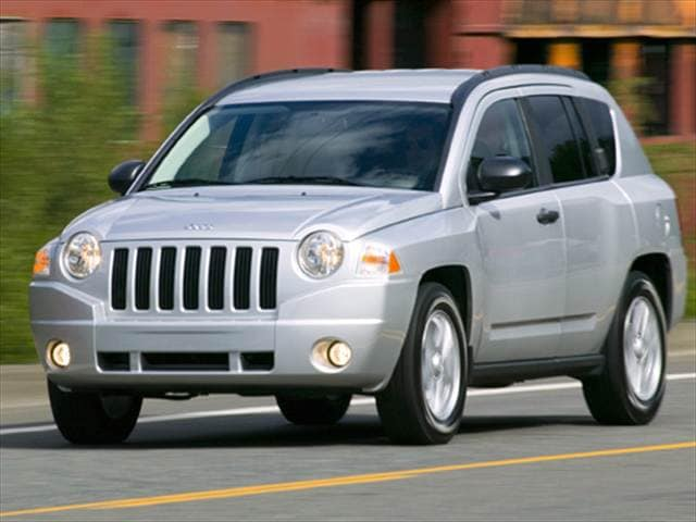 Most Fuel Efficient Crossovers of 2009 - 2009 Jeep Compass