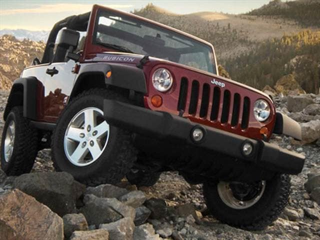 Most Popular SUVs of 2009 - 2009 Jeep Wrangler