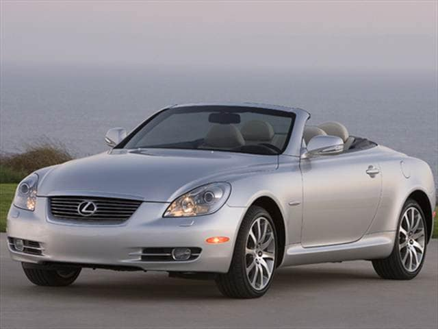 Top Consumer Rated Convertibles of 2009 - 2009 Lexus SC