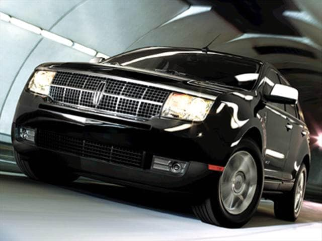 Top Consumer Rated Crossovers of 2009 - 2009 Lincoln MKX