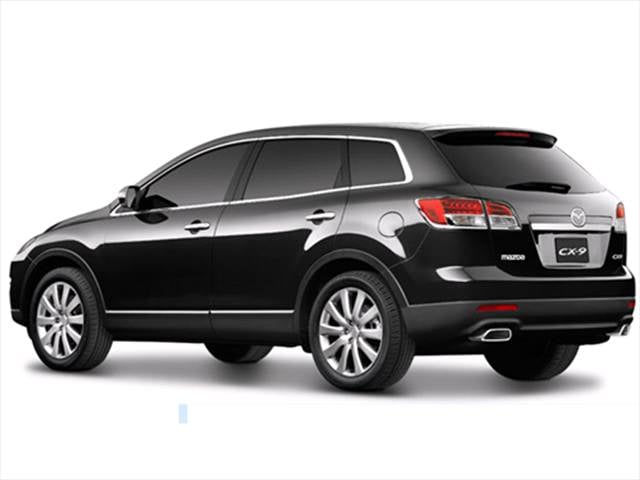 2009 mazda cx 9 sport suv 4d used car prices kelley blue book. Black Bedroom Furniture Sets. Home Design Ideas