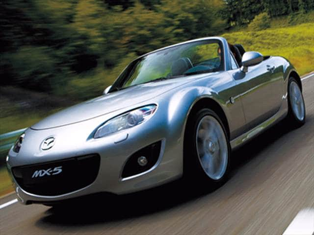 Most Fuel Efficient Convertibles of 2009 - 2009 Mazda MX-5 Miata