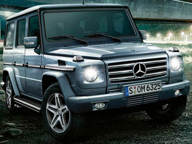 Highest Horsepower SUVs of 2009 - 2009 Mercedes-Benz G-Class