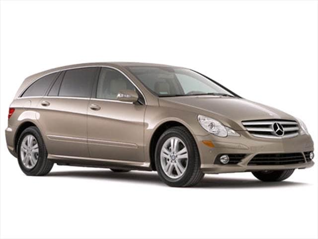 Highest Horsepower Wagons of 2009 - 2009 Mercedes-Benz R-Class