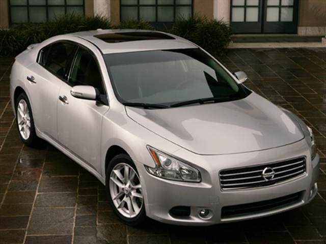 Kelley Blue Book Used Cars Value Calculator >> 2009 Nissan Maxima S Sedan 4D Used Car Prices | Kelley Blue Book