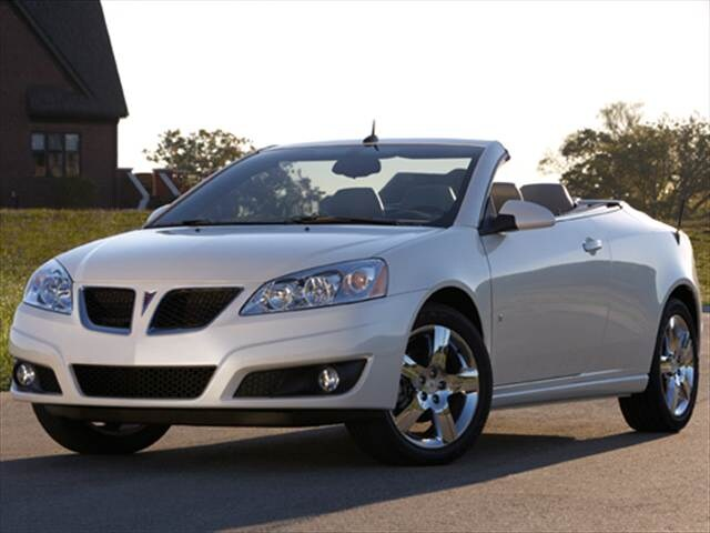 Most Popular Convertibles of 2009 - 2009 Pontiac G6 (2009.5)