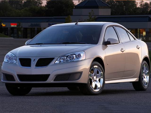 Most Popular Sedans of 2009 - 2009 Pontiac G6 (2009.5)