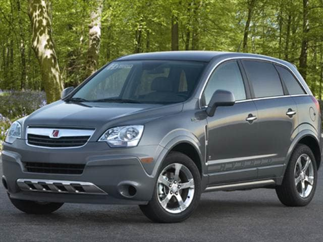Photos and Videos 2008 Saturn VUE Hybrid History in Pictures