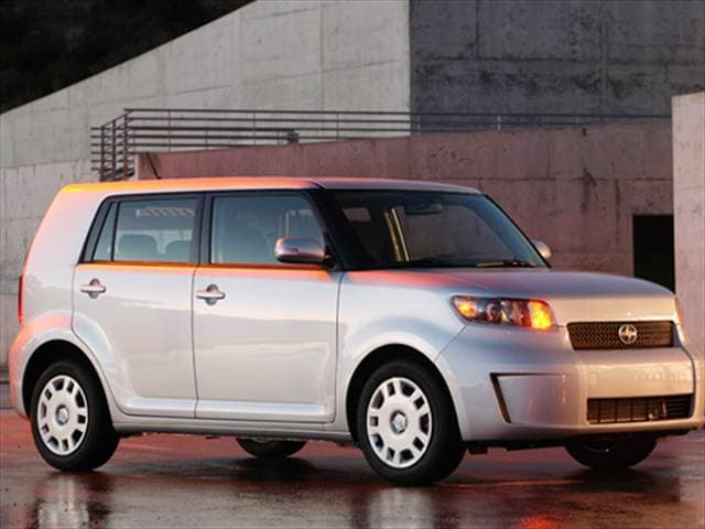 Top Consumer Rated Hatchbacks of 2009 - 2009 Scion xB