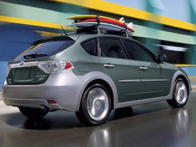 2009 Subaru Impreza Outback Sport Wagon 4d Used Car Prices Kelley Blue Book