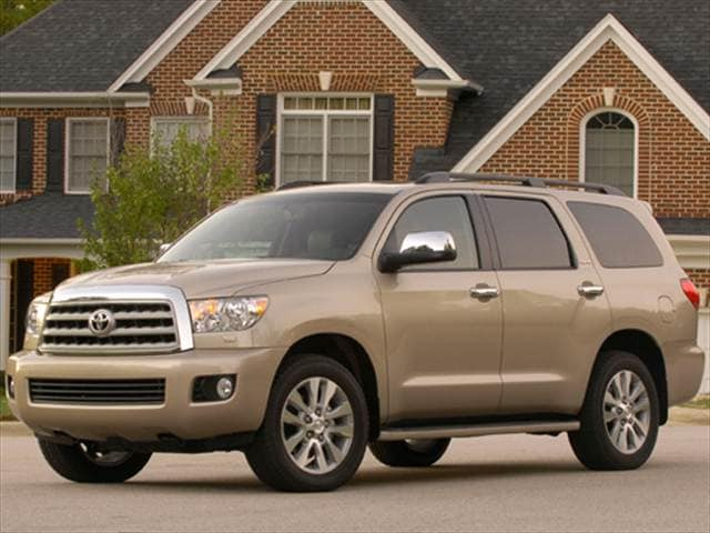 Top Consumer Rated SUVs of 2009 - 2009 Toyota Sequoia