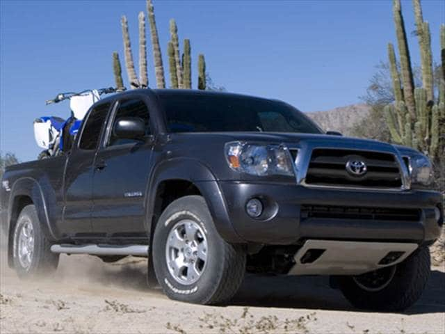 Most Fuel Efficient Trucks of 2009 - 2009 Toyota Tacoma Access Cab