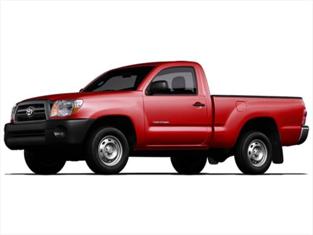 Most Fuel Efficient Trucks of 2009 - 2009 Toyota Tacoma Regular Cab