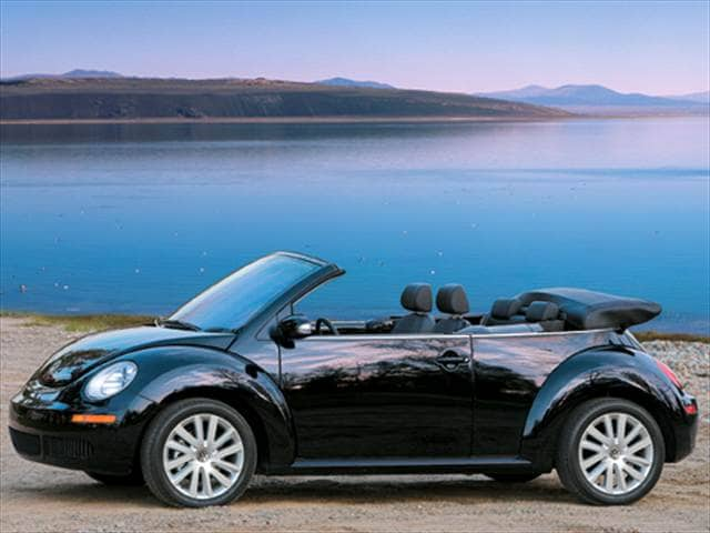 Most Fuel Efficient Convertibles of 2009 - 2009 Volkswagen New Beetle