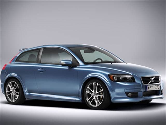 Highest Horsepower Hatchbacks of 2009 - 2009 Volvo C30