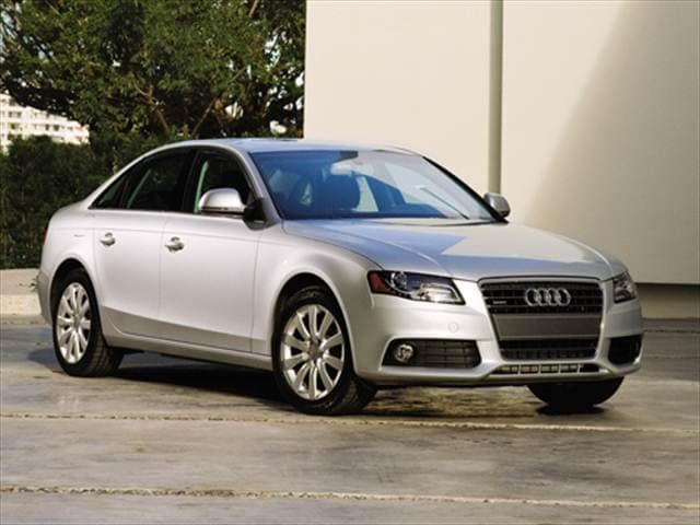 Most Fuel Efficient Luxury Vehicles of 2010 - 2010 Audi A4