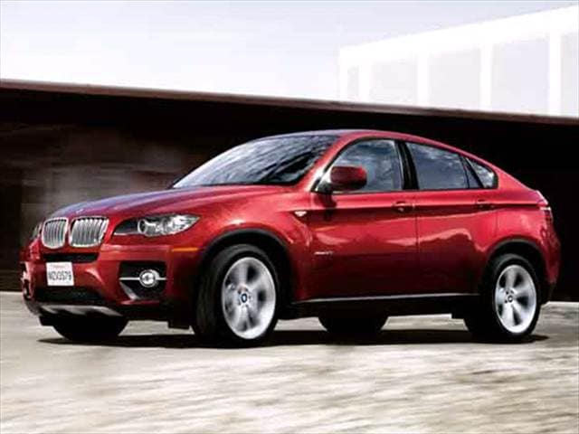 Highest Horsepower Crossovers of 2010 - 2010 BMW X6 M