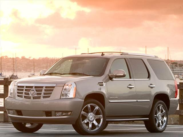 Highest Horsepower SUVs of 2010 - 2010 Cadillac Escalade