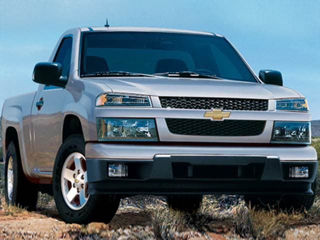 Most Fuel Efficient Trucks of 2010 - 2010 Chevrolet Colorado Regular Cab