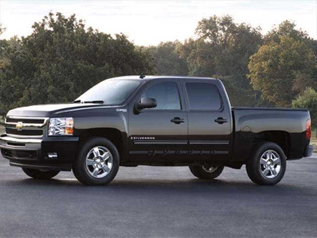 2010 Chevrolet Silverado 1500 Crew Cab Hybrid Pickup 4d 5 3 4 Ft Used Car Prices Kelley Blue Book