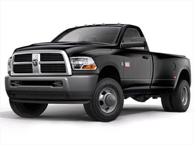 Top Consumer Rated Trucks of 2010 - 2010 Dodge Ram 3500 Regular Cab