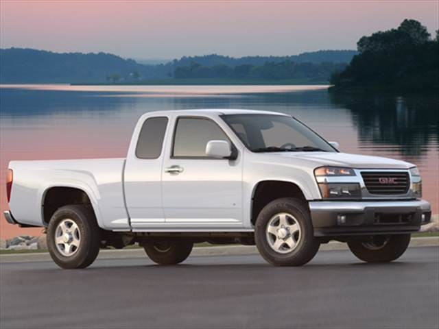 Most Fuel Efficient Trucks of 2010 - 2010 GMC Canyon Extended Cab