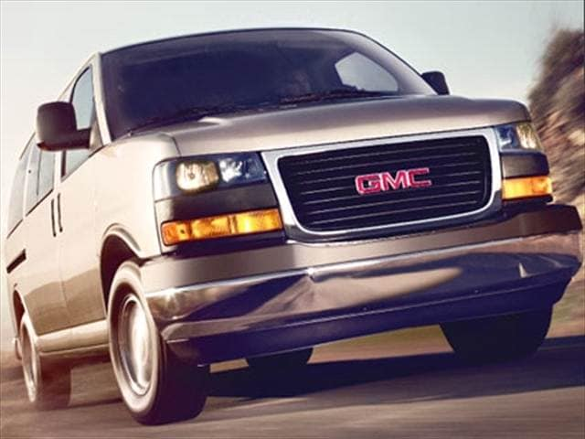 Top Consumer Rated Vans/Minivans of 2010 - 2010 GMC Savana 3500 Passenger