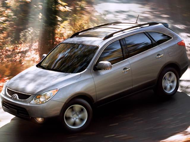Top Consumer Rated Crossovers of 2010 - 2010 Hyundai Veracruz