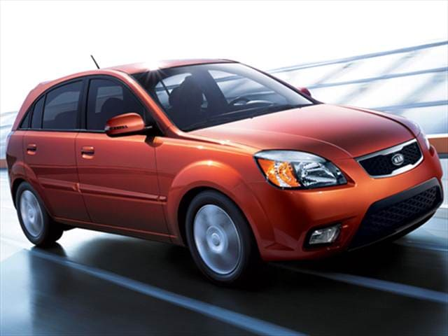 Most Fuel Efficient Hatchbacks of 2010 - 2010 Kia Rio