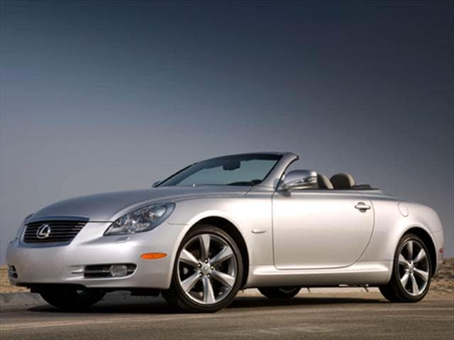 Top Consumer Rated Luxury Vehicles of 2010 - 2010 Lexus SC