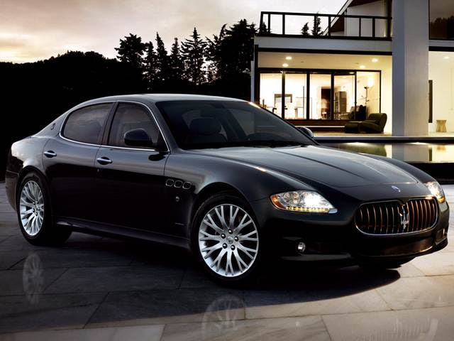 Top Consumer Rated Sedans of 2010 - 2010 Maserati Quattroporte