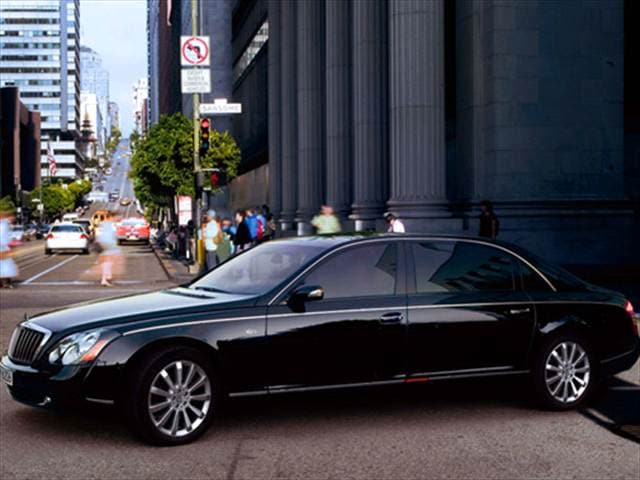 Highest Horsepower Sedans of 2010 - 2010 Maybach 62