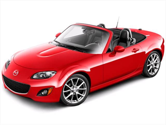 Most Fuel Efficient Convertibles of 2010 - 2010 Mazda MX-5 Miata