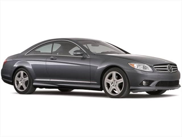 Highest Horsepower Luxury Vehicles of 2010 - 2010 Mercedes-Benz CL-Class