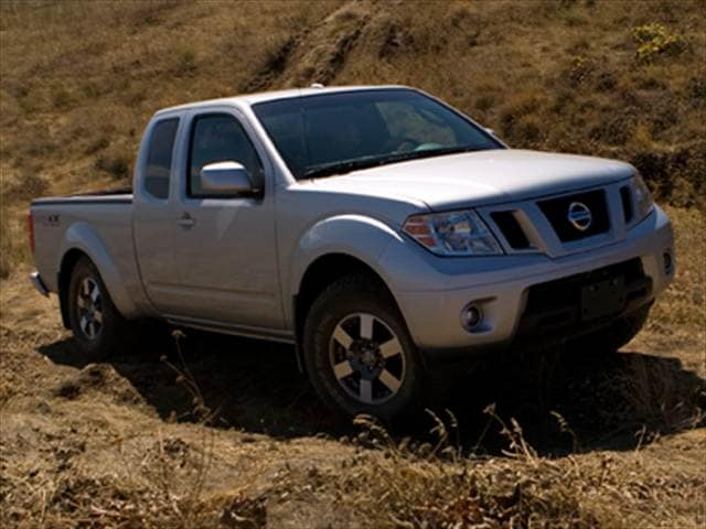 Most Fuel Efficient Trucks of 2010 - 2010 Nissan Frontier King Cab