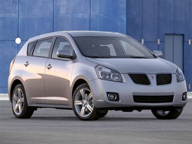 Most Fuel Efficient Wagons of 2010 - 2010 Pontiac Vibe