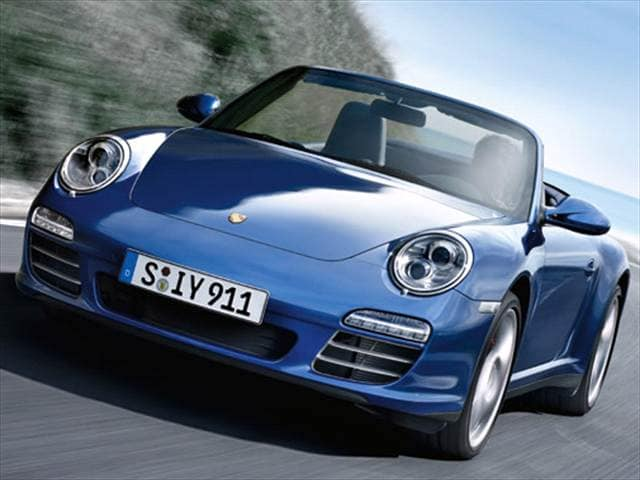 Top Consumer Rated Luxury Vehicles of 2010 - 2010 Porsche 911